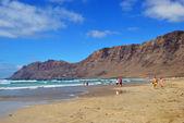 Beach Playa Famara — Stock fotografie