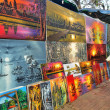 Painting shop in Angkor Wat — Stock Photo