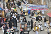 Street in Sanaa — Stock Photo