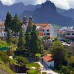 Mountain village Artenara — Stock Photo