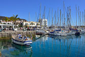Marina Puerto de Mogan — Stock Photo