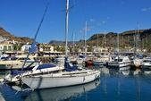 Marina Puerto de Mogan — Stock Photo