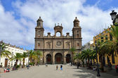 Cathedral of Saint Ana, Las Palmas de Gran Canaria — Stock Photo