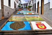Firgas, Paseo de Canarias — Stock Photo