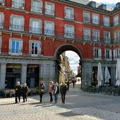 Square Plaza Mayor — Stock Photo