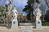 Plaza de Oriente, Madrid  — Stock Photo