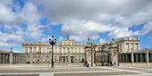 Palacio real de madrid — Foto de Stock
