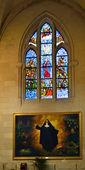 Interior of the cathedral La Almudena — Stock Photo