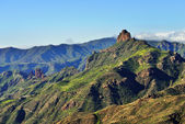 Gran Canaria landscape, Roque Bentayga — Stock Photo