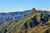 Gran Canaria landscape, Roque Bentayga — Stock Photo