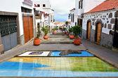 Firgas, Paseo de Canarias — Stockfoto