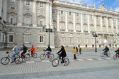 Plaza de Oriente and Royal Palace, Madrid — Stock Photo