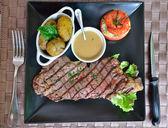 Entrecote steak — Stock Photo