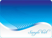Blue background.Vector — Stock Vector