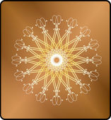 Swirl elementen — Stockvector