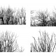 Royalty-Free Stock Vectorielle: Trees