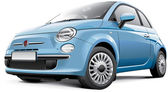 Italian city car — Stock Vector