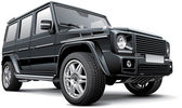 Germany full-size SUV — Stockvector