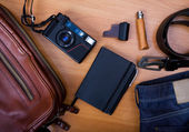 Set of cool accessories — Stock Photo
