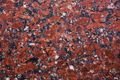 Red granite sample  — Stock Photo