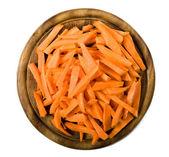 Sliced ??carrots — Stock Photo