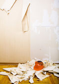 Renovation of house interior — Stock Photo