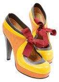 ženy boty — Stock fotografie