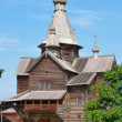 Stock Photo: Ancient wooden church.