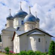 The Church and the Cathedral of the Intercession in Zverin monastery. — Stock Photo #14586749