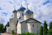 The Church and the Cathedral of the Intercession in Zverin monastery. — Stock Photo