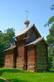 Antiga igreja de madeira. — Foto Stock