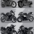 motorcycles — Stock Vector