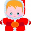 Cute santclaus — Stock Vector #38404675