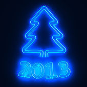 Neon tree 2013 — Stock Photo