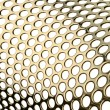 Perforated metal pattern — Stock Photo #18661319