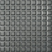 Steel square pattern — Stock Photo