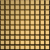 Golden square pattern — Stock Photo