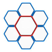 Hexagons — Stock Photo