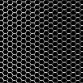 Chrome grid — Stock Photo