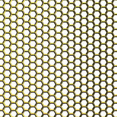 Golden grid — Stock Photo