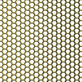 Golden grid — Stock Photo