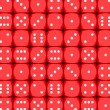 Dice background — Stock Photo