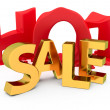 Stock Photo: Hot sale promotion