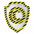 Copyright shield - Stock Photo