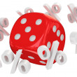 Dice orbital — Stock Photo