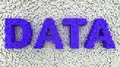 Matrix Data — Stock Photo