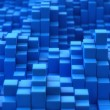 Stock Photo: Blue convex texture
