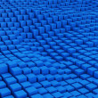 Stock Photo: Blue mosaic surface
