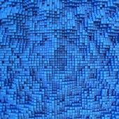 Blue tile — Stock Photo