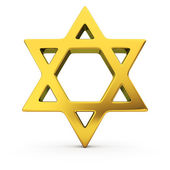 Jewish star — Stock Photo